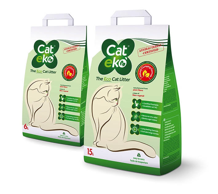 lettiera vegetale per gatti cat ek